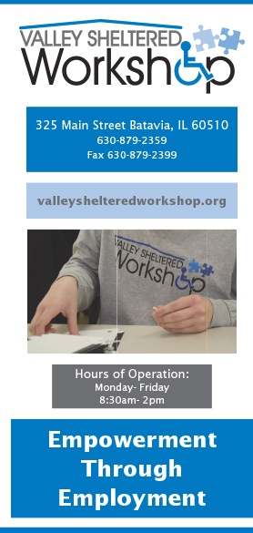 Valley Sheltered Workshop Services Brochure